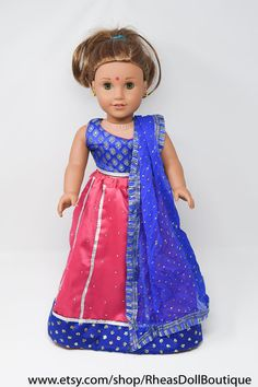 A personal favorite from my Etsy shop https://www.etsy.com/listing/576041861/american-girl-doll-princess-outfit