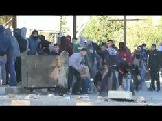 Dos palestinos muertos en los enfrentamientos del Viernes de la Ira - LA TELE NOTICIAS