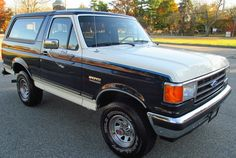 1989 Ford Bronco XLT: Factory 4-Speed - http://barnfinds.com/1989-ford-bronco-xlt-factory-4-speed/