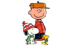 Charlie Brown, Snoopy and Woodstock.