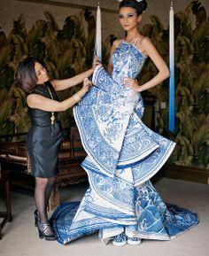 sam a la mode: The Kingdom of Guo Pei