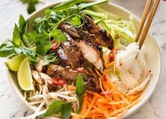 chicken vermicelli noodles