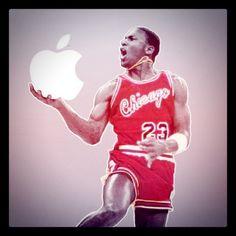 I've never seen Michael Jordan dunk an apple Steve Wozniak, Apple Inc, Steve Jobs, Michael Jordan, Nba, Technology, Eyes, American