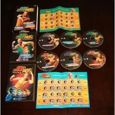 New HIP HOP ABS  6 DVD SET Shaun T + Calendars - First Class Mail from Florida