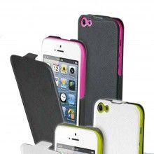 Funda iPhone 5C Muvit - iFlip Negra con Film Protector  AR$ 124,08