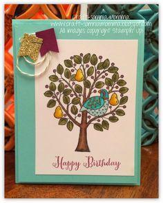 Inspiring Partridge & Pears ~ by Breelin Renwick | Craft-somnia Momma