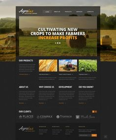 Beautiful! Yes or no?   Agriculture Responsive Website Template CLICK HERE! GET MY DISCOUNT  http://cattemplate.com/template/?go=2hQdr41