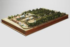 Model of Vauxhall Gardens