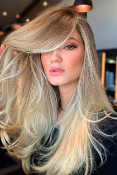 Trendy Blonde Hair Colors And Over 35 Style Ideas To Try In 2021 ★ Hair Lights, Light Hair, Dark Roots Blonde Hair, Ashy Blonde, Short Blonde, Blonde Color Chart, Beautiful Hair Color, Fair Skin, Hair Highlights