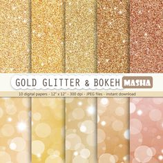 "Excited to share the latest addition to my shop: Gold digital paper: ""Gold glitter and bokeh"" with bokeh digital papers, glitter digital papers, metallic paper, bronze, gold, copper sparkle #goldglitter #golddigitalpaper #digitalpaper #glitter #copper #sheet #scrapbooking #gold #supplies #etsy http://etsy.me/2HbHBdx"