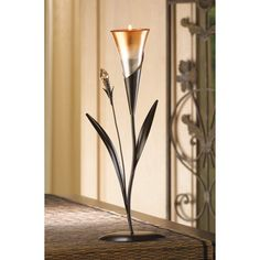 DAWN BLOSSOM TEALIGHT HOLDER