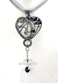Ice Heart Pendant by ukapala.deviantart.com on @deviantART