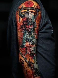 Japan Tattoo Design, Japanese Tattoo Designs, Japanese Tattoo Art, Badass Tattoos, Body Art Tattoos, Cool Tattoos, Men Tattoos, Tattoo Ink, Tatoos