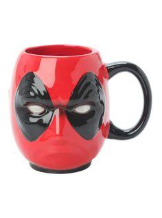 Marvel Deadpool Head Figural Mug