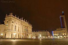 Turin, Italy. Piazza Castello.