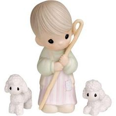 Precious Moments Nativity Figurines  Come Let Us Adore Him