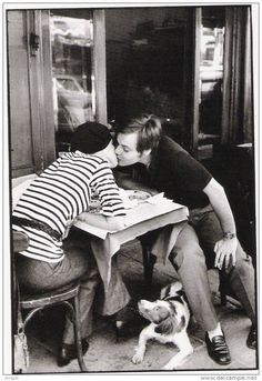 Sidewalk Cafe Boulevard Diderot Paris By Henri Cartier Bresson