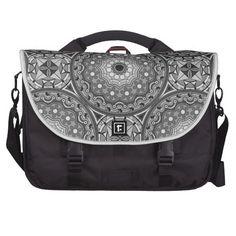 Geometric design commuter bag
