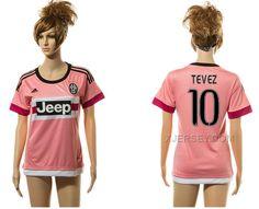 http://www.xjersey.com/201516-juventus-10-tevez-away-women-jersey.html 2015-16 JUVENTUS 10 TEVEZ AWAY WOMEN JERSEY Only $35.00 , Free Shipping!