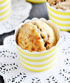 Banana All-Bran Fibre Toppers Muffins - Fuss Free Cooking Banana Bran Muffins, Healthy Banana Muffins, Overripe Bananas, Tasty, Yummy Food, Cooking Recipes, Fast Recipes, Cooking On A Budget, Food Categories