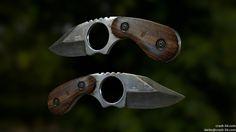 ArtStation - Skinning Knife, Darko Miladinovikj