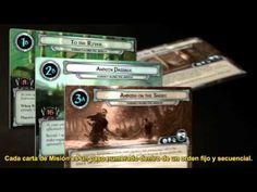 El Señor de los Anillos LCG [2 de 5] (V.O. Subtitulado) - YouTube