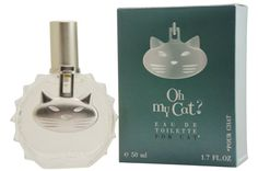 Oh My Cat! fine fragrance by Dog Generation -- yes, this 2001 perfume was created for cat owners AND their cats(!)