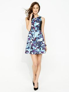 Image for Floral Shards Dress from Portmans