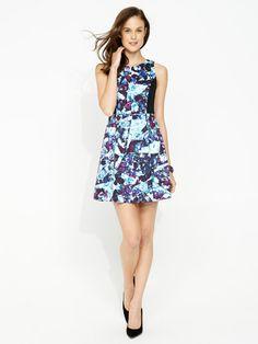 Image for Floral Shards Dress from Portmans