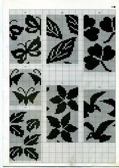 Tapestry Crochet Patterns, Fair Isle Knitting Patterns, Knitting Machine Patterns, Fair Isle Pattern, Knitting Charts, Knitting Stitches, Knitting Designs, Hand Knitting, Doily Patterns