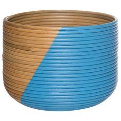 Splice Basket Decorative Bowls, Basket, Projects, Blue, Home Decor, Log Projects, Blue Prints, Decoration Home, Room Decor