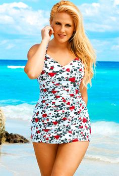 FATSHION: A TRULY RIDICULOUS NUMBER OF CUTE PLUS-SIZE SWIMSUITS TO JAM YOUR EXCELLENT FAT ASS INTO THIS SUMMER