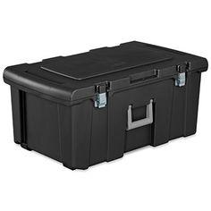 Sterilite Wheeled FootLocker, 92 Qt. Capacity: Model# 18429001   True  Value. Locker StorageStorage BinsStorage TrunkPlastic ...