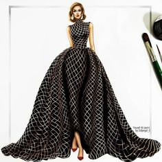Image about art in Inspiration for Fashion Illustrations by yoncé filling out this skirt