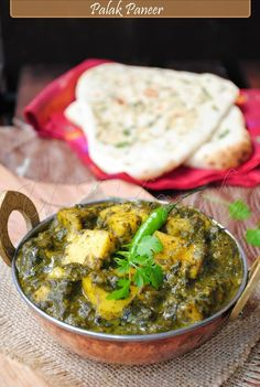 Palak paneer/Saag paneer // yum!! Lower cal, lots of greens, one of my favorites. Gluten free vegetarian