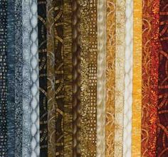 FAT-QUARTER EARTH MODERN MOVEMENT FABRIC COLLECTION