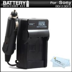 Battery Charger Kit For Sony DEV-3, Sony DEV-5 Digital Recording Binoculars Includes Ac/Dc 110/220 Rapid Travel Charger For Sony NP-FV70 Battery + MicroFiber Cloth (Electronics)  http://www.rereq.com/prod.php?p=B005WKY716  B005WKY716