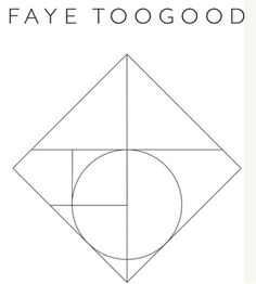 a new take on the golden ratio // Faye Toogood logo