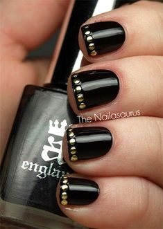 Happy New Year Nail Art Designs & Ideas 2014/2015 | Fabulous Nail Art Designs