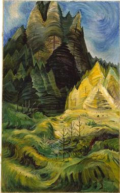 Reforestation by Emily Carr, 1936. Oil on canvas | McMichael Canadian Art Collection http://blogs.fairview.k12.oh.us/jlefevre/tag/warm-colors/