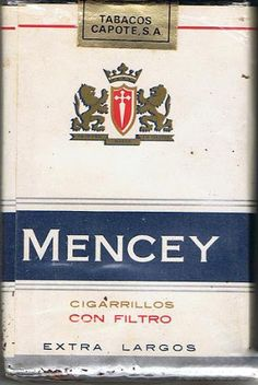 Carteles antiguos de publicidad- Cigarrillos Mencey Vintage French Posters, French Vintage, Vintage Photos, Vintage Cigarette Ads, Cigarette Brands, Cigar Smoking, Old Ads, Vintage Labels, Cigars