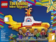 Movie Treasures By Brenda: The Beatles Yellow Submarine Lego Set 21306. It'll make the nostalgic Beatle lover smile!
