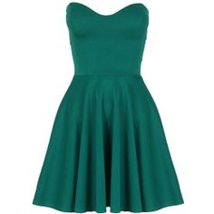 Designer Clothes, Shoes & Bags for Women Teal Green Dress, Short Green Dress, Blue Dresses, Short Dresses, Teal Blue, Cheap Designer Clothes, Fit N Flare Dress, Tube Dress, Playing Dress Up