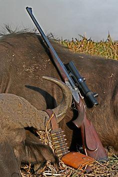 Double Rifle Krieghoff Classic www. Big Game Hunting, Trophy Hunting, Hunting Rifles, Africa Hunting, Firearms, Shotguns, Custom Guns, Fire Powers, Cool Guns
