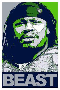 "Marshawn ""Beast Mode"" Lynch of the Seattle Seahawks Seahawks Fans, Seahawks Football, Best Football Team, Football And Basketball, Seattle Seahawks, Seahawks Memes, Seahawks Gear, Football Stuff, Marshawn Lynch Seahawks"