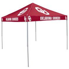 Oklahoma Sooners NCAA Colored 9u0027x9u0027 Tailgate Tent  sc 1 st  Pinterest & NCAA - Oklahoma Sooners Red Tailgate Tent Canopy | OU Sooners ...