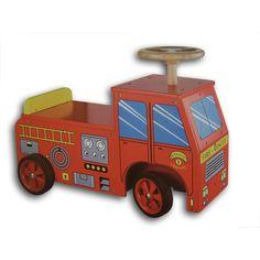 Loopwagen Brandweer
