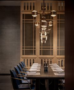 Intercontinental Dongguan - Picture gallery Cove Lighting, Stair Lighting, Lighting Design, Pavilion Grey, Entrance Design, Dongguan, Red Walls, Dining Area, Dining Room