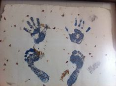 My hands and feet. Includes poem inside feet and toes