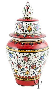 Turkish pottery - jar.